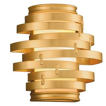 Vertigo Gold Leaf Wall Light