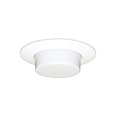 CTR1916 6 Inch Drop Opal Glass Shower Trim