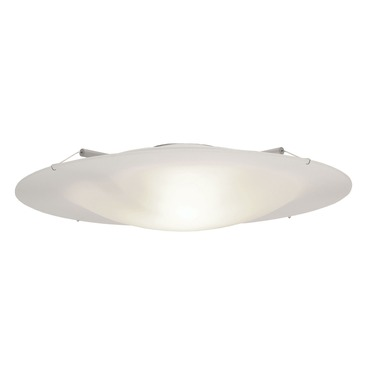 Vanilla Sky Round Xenon Ceiling Flush Mount by Edge Lighting | vsky-rd-18-k1
