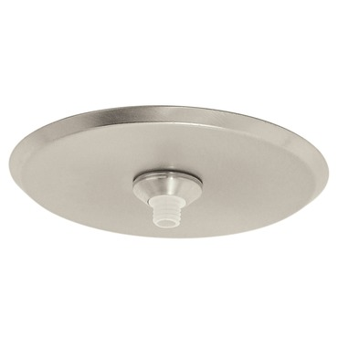 Fast Jack 4 Inch Round Canopy by PureEdge Lighting | fjp-4rd-sn