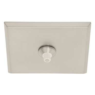 Fast Jack 4 Inch Square Canopy by PureEdge Lighting | fjp-4sq-sn