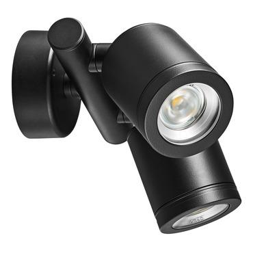 Twin Spot 2X6W 60Deg Wall Light