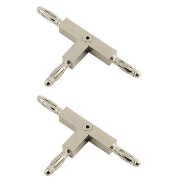 Monorail T Conductive Connector by Edge Lighting | mc-tc-sn