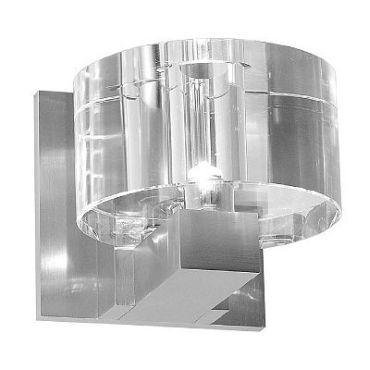 Round Crystal Wall Sconce