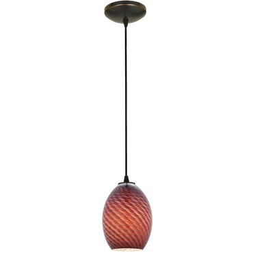 Brandy Cord Pendant Integrated LED