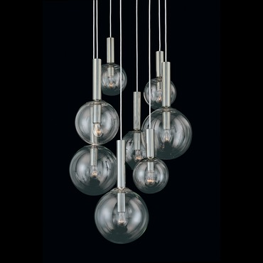 Bubbles 8-Light Pendant