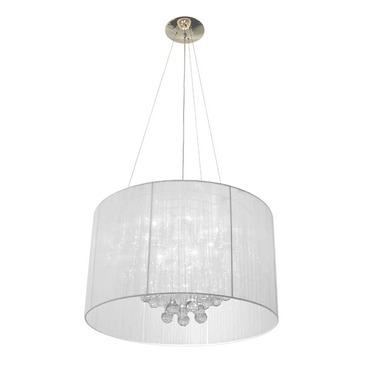 Crystal Spirits Suspension by Edge Lighting | CRYSTALSP-S-WH