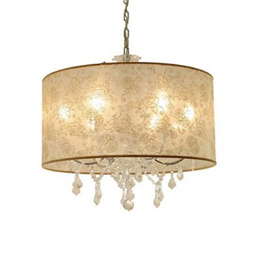 Crystal Union Chandelier by PureEdge Lighting | CRYSTALU-S-IV