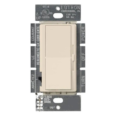 Diva Preset 1000W Incandescent Single Pole Dimmer