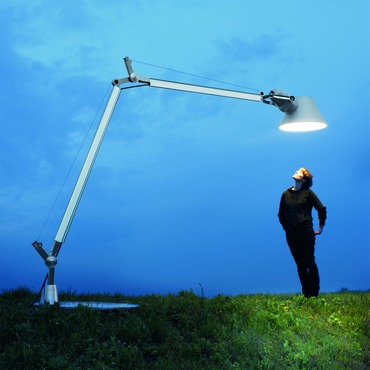 Tolomeo XXL Outdoor Floor Lamp with Base
