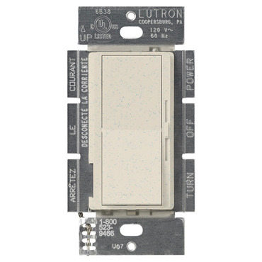 Diva Satin 600W Incandescent 3-Way Dimmer