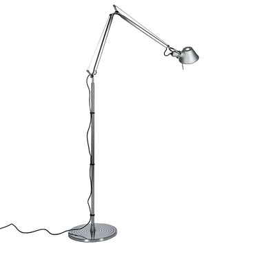 Tolomeo classic desk lamp by artemide tol0000 tolomeo floor lamp with dimmer aloadofball Image collections