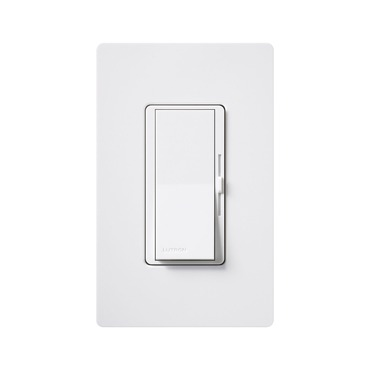 Diva 600W Single Pole/3-Way Incandescent Eco Dimmer by Lutron | dv-603pg-wh