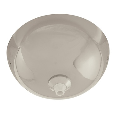 Fast Jack 4 Inch Surface Mount Dome Canopy by PureEdge Lighting | FJP-4SF-PN