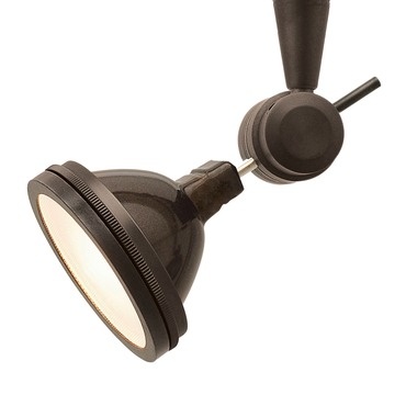 FJ Chopper Head with LH16 Louver Lens Holder by PureEdge Lighting | FJ-CHO-1-BZ-LH16-BZ