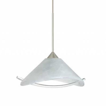 XP Hoppi Pendant with Accessory by Besa Lighting | XP-181304-BR