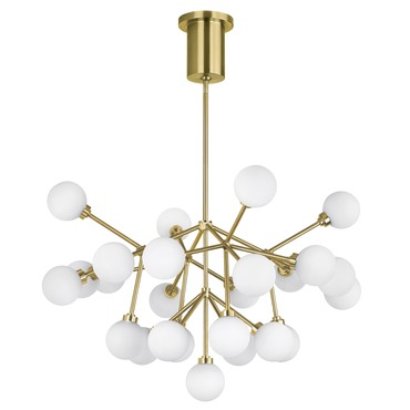 Modern chandeliers contemporary chandelier lighting lightology mara chandelier aloadofball Image collections