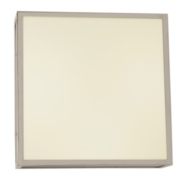 Garbo Square Ceiling / Wall Light  by Edge Lighting | garbo-c-sq-12-f1-sn