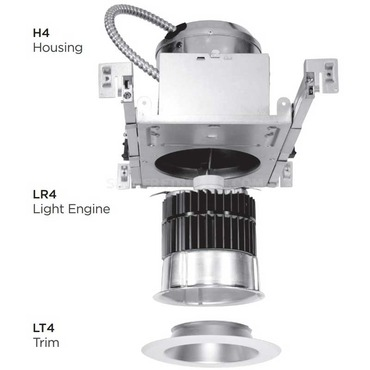 Led 4 In Housing