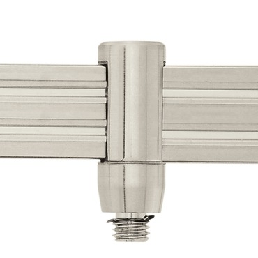 Monorail 2-Circuit FJ Fixture Connector by Edge Lighting | m2c-fj-sn