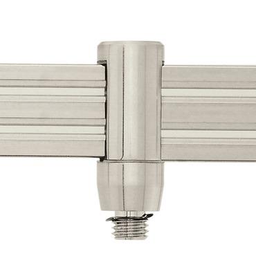 Monorail 2-Circuit FJ Fixture Connector by Edge Lighting | m2c-fj-sn