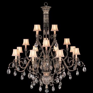 A Midsummer Nights Dream 16 Light Crystal Droplet Chandelier