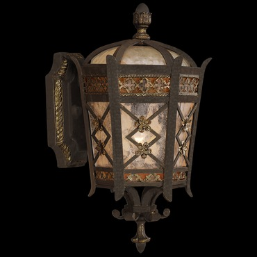 Chateau Outdoor Top Mount Wall Light