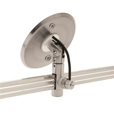 Monorail 2-Circuit Sloped Ceiling Single Feed Canopy by Edge Lighting | M2P-4RD-SL48-SN