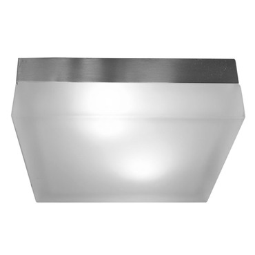 Mint Square Ceiling Flush Mount by Edge Lighting | MINT-9-C-SQ-FR-SN