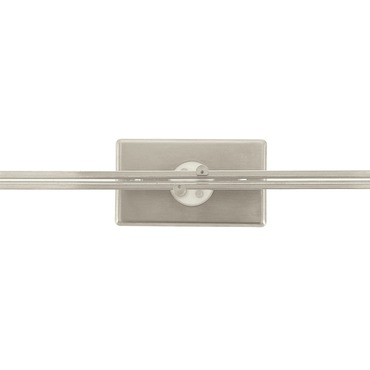 Monorail Wall 3 Inch Rectangular Canopy by Edge Lighting | mwp-3re-sn