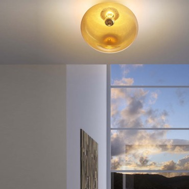 Ombre Wall/Ceiling Mount by Leucos