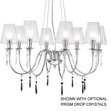 Opera 8 Light Chandelier by Lightology Collection | LC-180188.42