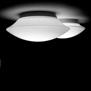 Puck 1 Light Wall / Ceiling Mount  by Vibia | 5410-03-hal