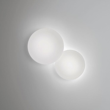 Puck 2 Light Wall Sconce by Vibia | 5425-03-CFE