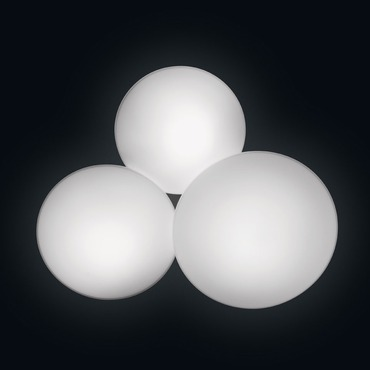 Puck Multi Light Wall / Ceiling Mount by Vibia | 5435-03-CFE