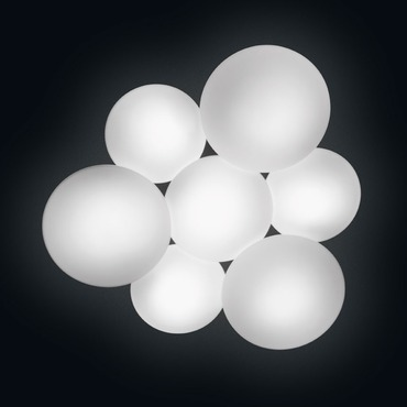 Puck Multi Light Wall / Ceiling Mount by Vibia | 5445-03-CFE