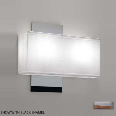 Soho Double Wall Sconce by ILEX | SOH3-WM-CS-BABB-FL
