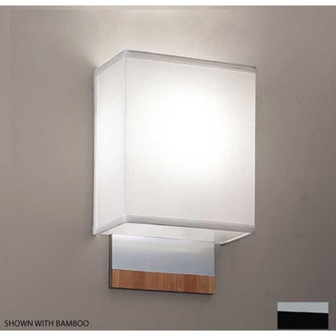 Soho Single Wall Sconce by ILEX | SOH1-WM-CS-BABL+FL
