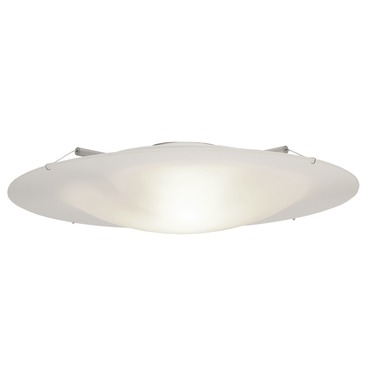 Vanilla Sky Round Fluorescent Ceiling Flush Mount by Edge Lighting | VSKY-RD-14-F1