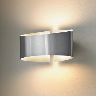 Voila Metal Wall Light by Holtkoetter | 8501-STS
