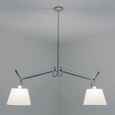Tolomeo 10 inch Double Shade Suspension by Artemide | TOL1000