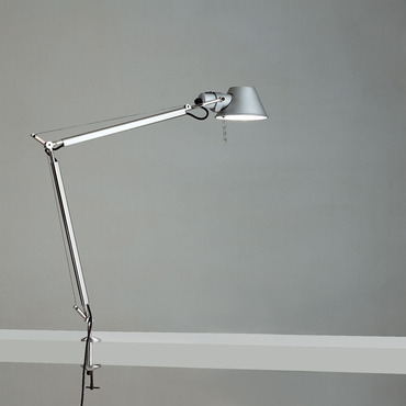 Tolomeo LED Classic Desk Lamp with Clamp by Artemide | TOL0020
