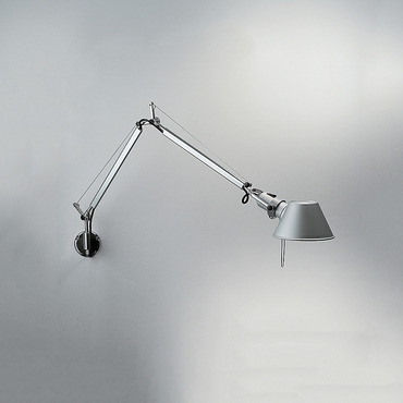 Tolomeo Mini Wall Light with J Bracket by Artemide | TOL1125