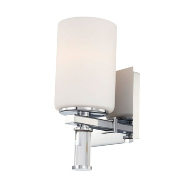 Crystal Vanity Wall Sconce