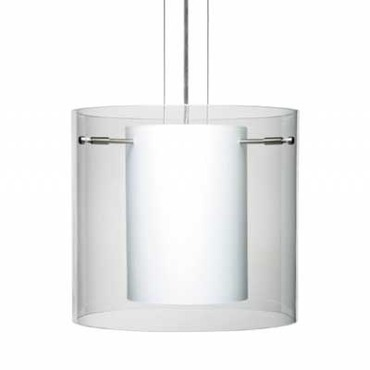 Pahu Pendant by Besa Lighting | 1kg-c18407-sn