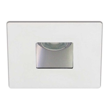 R3151W 3.5 Inch Square Adjustable Wall Wash Pinhole Trim by Contrast Lighting | R3151W-11