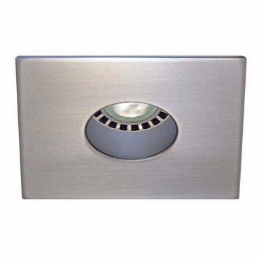Low Voltage 3.5IN SQ Regressed Round Pinhole Trim