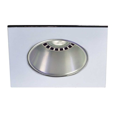 Low Voltage 3.5IN SQ Deep Regressed Round Downlight Trim