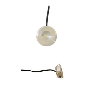 Button Dot Round LED Undercabinet by Raise Lighting | dot-rd-1w-28k-sa