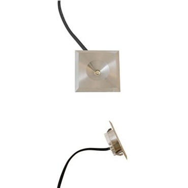 Button Dot Square LED Undercabinet by Raise Lighting | dot-sq-1w-28k-sa